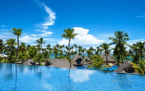 Espectacular resort frente a la playa con todo incluido