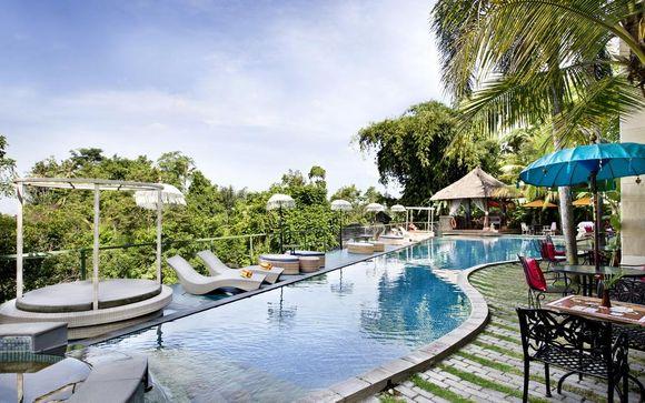 The Mansion Resort 5*, Anema Resort Gili Lombok 4* y Meliá Bali 5*