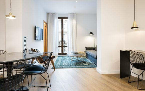 Estiloso apartamento para 6 personas en el Eixample