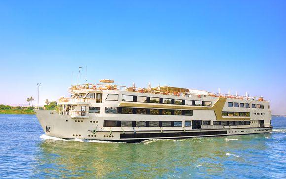 Crucero Nilo y Corales 5*, 4 noches de crucero y 3 noches de Hurgada