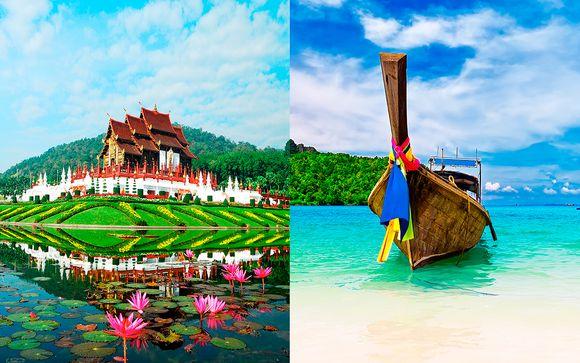 De Bangkok al norte con extensión opcional a Phuket