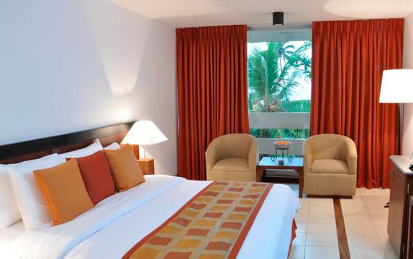 Su habitación en el Pegasus Reef Hotel 4*