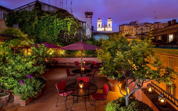 Italia Roma – The Inn at the Spanish Steps Luxury Boutique Hotel  desde 275,00 ? Roma Italia en Voyage Prive por 275.00 EUR€