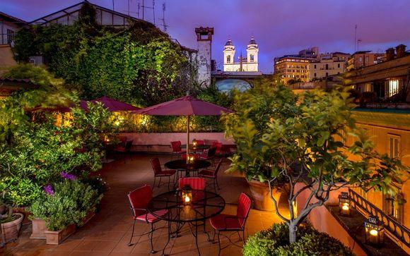 Italia Roma - The Inn at the Spanish Steps Luxury Boutique Hotel  desde 275,00 ? con Voyage Prive en Roma Italia
