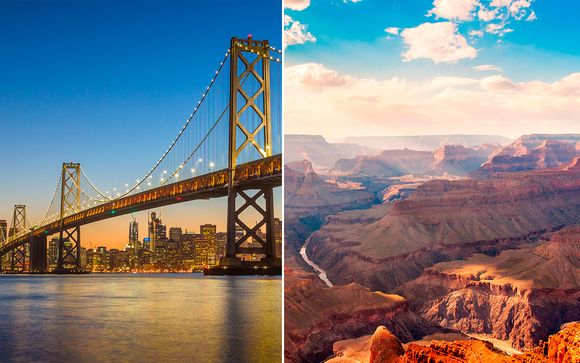 Grandes ciudades y exuberantes paisajes en Estados Unidos