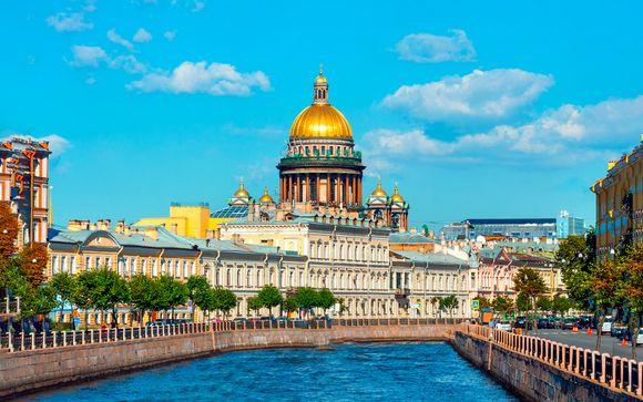 Crucero de Moscú a San Petersburgo