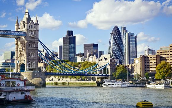 Reino Unido Londres - Novotel London Excel 4* con crucero por el río Támesis desde 96,00 €