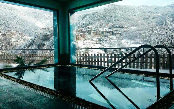 Escapada de esquí con 1 acceso al spa