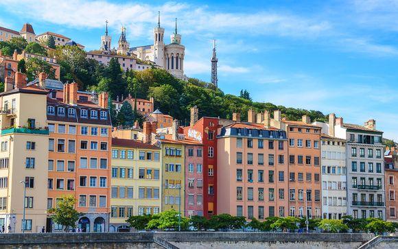 Photographie de Lyon et ses quartiers classés au Patrimoine Mondial de l'UNESCO