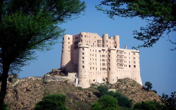 Poussez les portes de l'hôtel Alila Fort Bishangarh 5*