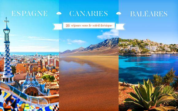 Cet été, découvrez l'Espagne et ses îles