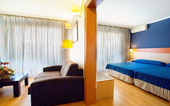 Poussez les portes de l'hôtel Evenia President à Salou