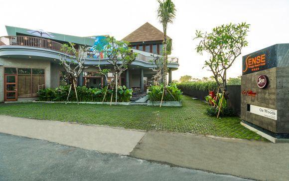 Poussez les portes de l'hôtel Sense Canggu Beach 4*