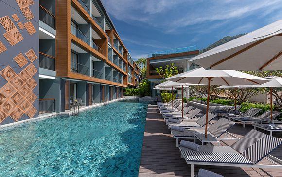 Poussez les portes de l'Hôtel The Nature Phuket 5*
