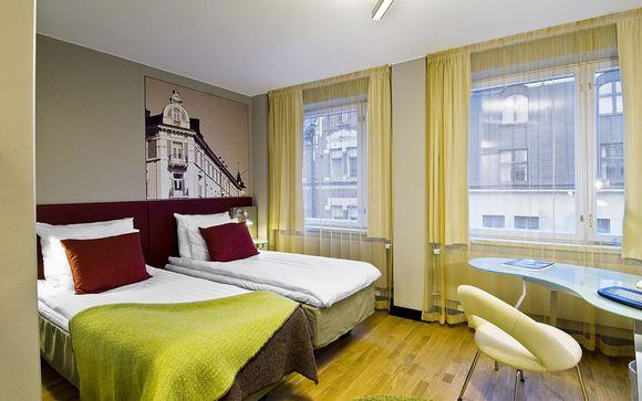 Poussez les portes de l'Original Sokos Hotel Albert 4*, Helsinki