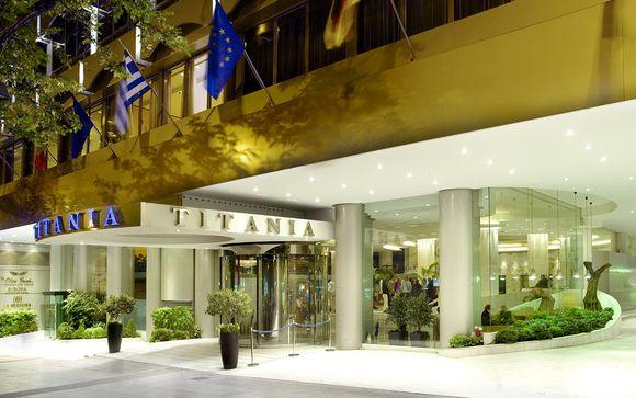 Poussez les portes de l'hôtel Titania 4*