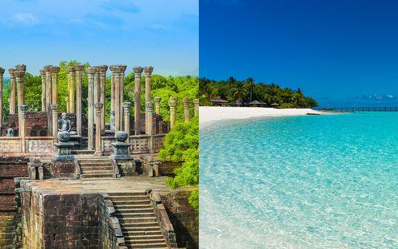 Circuit Découverte de Ceylan et séjour balnéaire aux Maldives