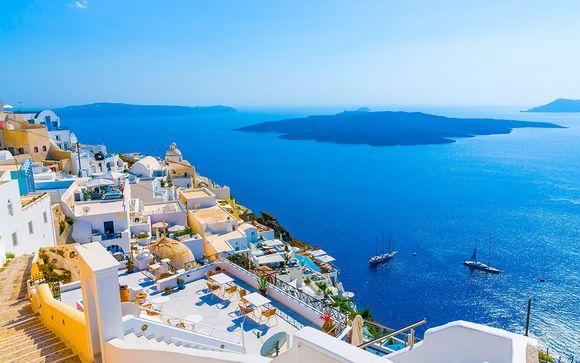 Trio de merveilles sur la mer Égée