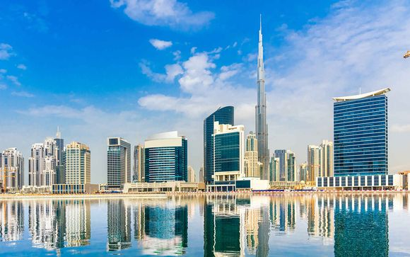 D�couverte de Duba� depuis l'h�tel Carlton Downtown 4*