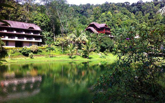 Poussez les portes de l'hôtel Kuraburi Greenview Resort