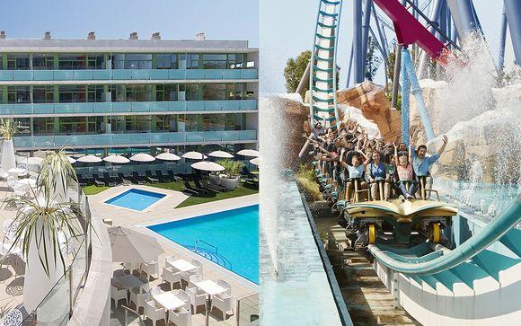 Combiné 4* Four Elements Suites et PortAventura Hotel Caribe