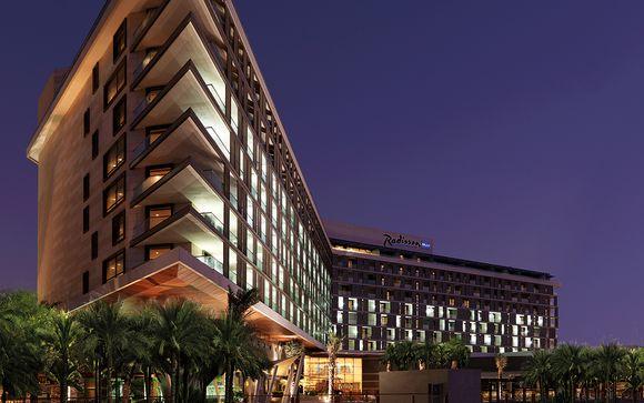 Poussez les portes de l'hôtel Radisson Blu Yas Island à Abu Dhabi