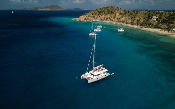 Navigation au cœur des plus belles îles des Caraïbes