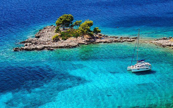 Croisière catamaran en Croatie