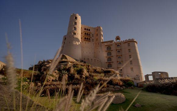 Zoom sur votre extension à Jaipur à l'hôtel Alila Fort Bishangarh