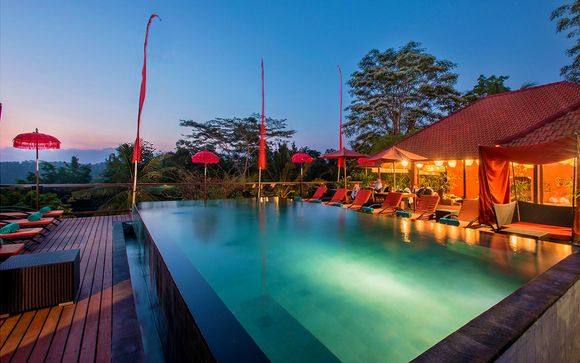 Combiné 5* Jungle Retreat by Kupu Barong et The Sintesa