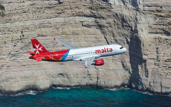 Envolez-vous avec Air Malta...