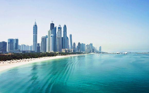 Combin� 4* Hilton Garden Inn Duba� et Radisson Blu Yas Island Abu Dh...
