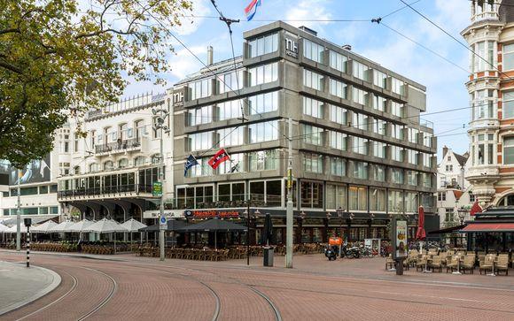 Poussez les portes de l'hôtel NH Amsterdam Caransa 4*