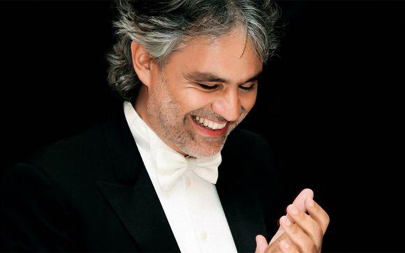 H�tel Calamidoro 4* et concert d'Andrea Bocelli