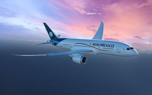 Offrez-vous le confort d'un vol avec Aeromexico