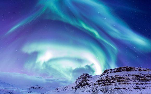 Circuit à la conquête des lumières d'Islande