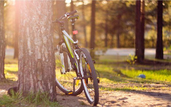Partez en balade à vélo le temps d'une demi-journée...