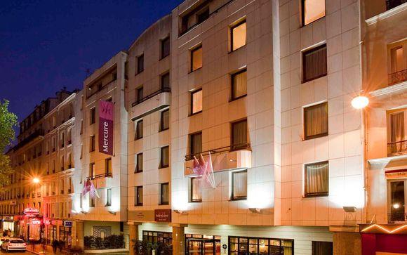 Poussez les portes de l'hôtel Mercure Paris Tour Eiffel Grenelle 4*