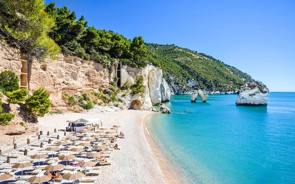 Italie Mattinata - Baia dei Faraglioni Beach Resort 5* à partir de 235,00 € (235.00 EUR€)