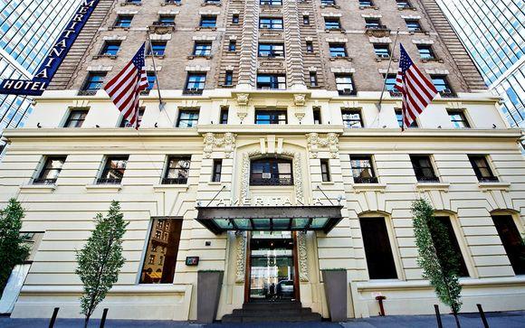 Poussez les portes de votre hôtel à New York dans le cadre de l'offre 1