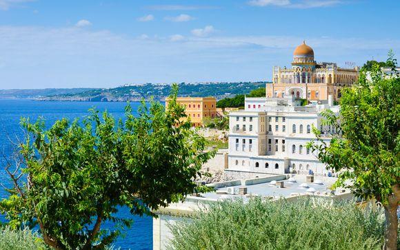Italie Santa Cesarea Terme - EST Hotel 4* à partir de 219,00 € (219.00 EUR€)