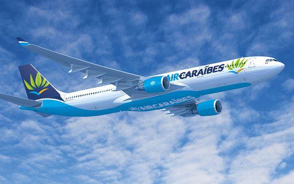 Offrez-vous un vol direct avec Air Caraïbes !