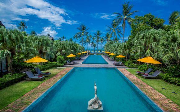 Combin� Vince h�tel Pratunam Bangkok et The Passage Samui Villas & Resort