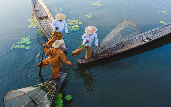 Circuit privatif Le Meilleur du Myanmar et extension balnéaire