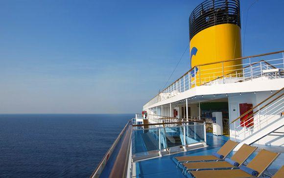 Le bateau Costa Serena