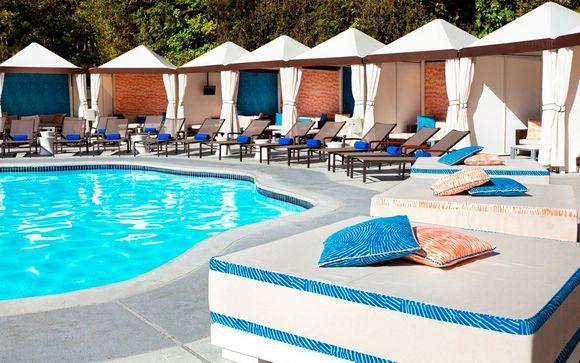 Votre extension à l'hôtel W Los Angeles