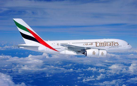Offrez-vous le luxe d'un vol avec Emirates