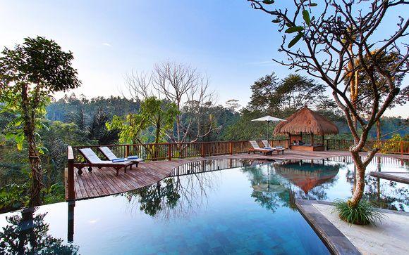 Combiné Nandini Bali Jungle 4* & Conrad Bali 5*