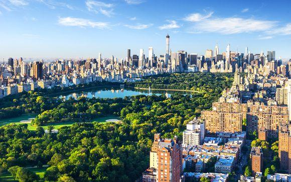 Photographie de Central Park et de la ville de New York, Etats-Unis