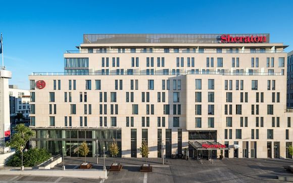 Poussez les portes de l'Hôtel Sheraton Bratislava 5*